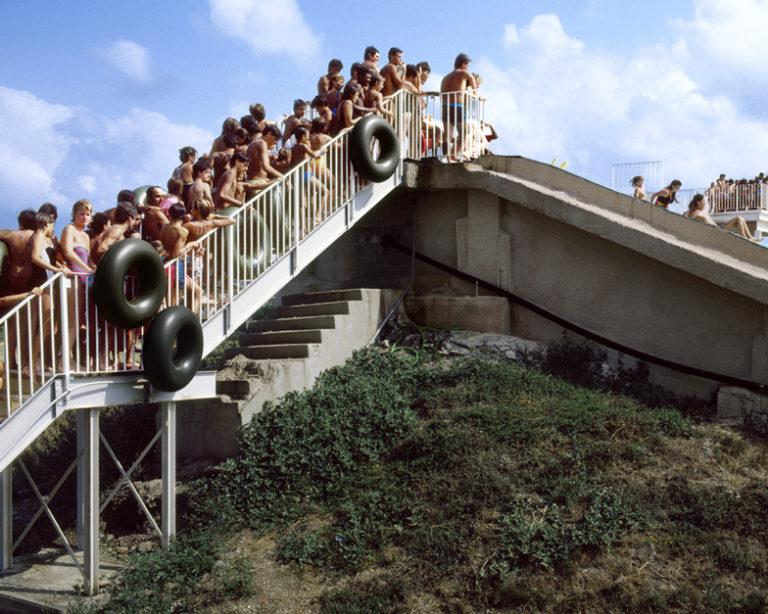 Pino Guidolotti, Aquasplash-Antibes, 1981