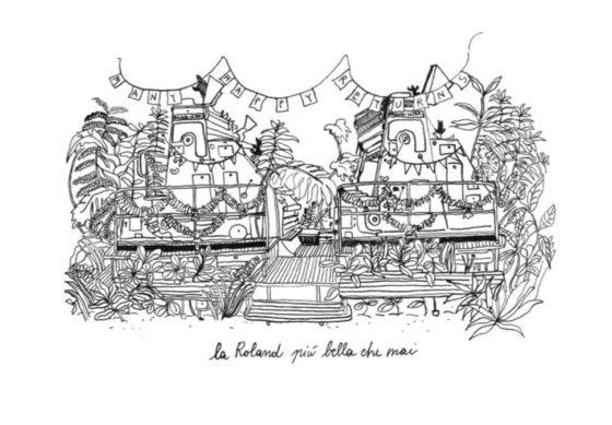Drawing by Flaminia Veronesi